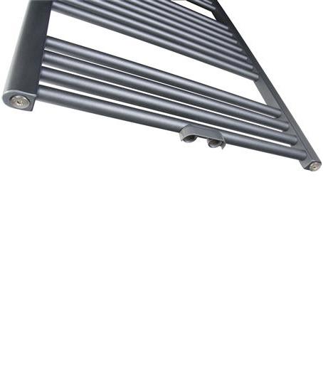 Thermrad Basic 6 handdoek radiator antraciet onderkant