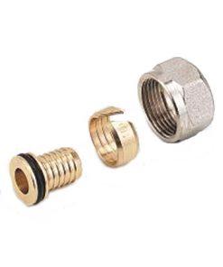 heimeier radiator aansluit koppeling voor 14x2 mm buis met m24 wartel