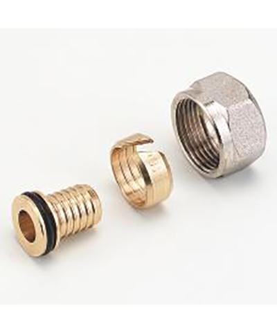 heimeier radiator aansluit koppeling voor 16x2 mm buis met m24 wartel