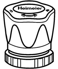 heimeier radiator handwiel kleur chroom
