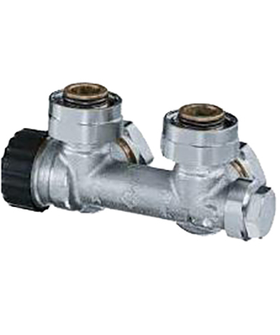 heimeier radiator onderaansluiting type multilux radiator onderblok haaks