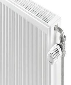 henrad compact radiator zij paneel thermostaatknop