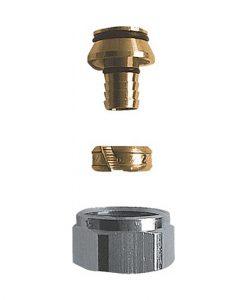 herz radiator aansluit koppeling voor 14x2 mm buis