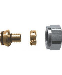 herz radiator aansluit koppeling voor 16x2 mm buis