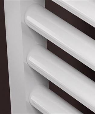 prorad hd handdoek radiator kleur wit detail buis