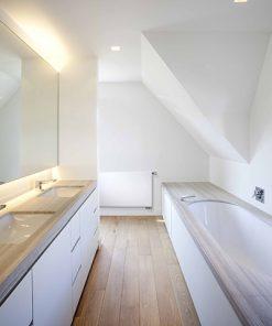 vasco flat line radiator vlakke voorplaat horizontaal badkamer