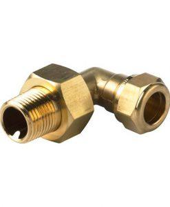 vsh radiator aansluitkoppeling knel haaks voor 15 mm buis