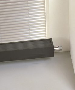 Jaga Mini convectorradiator wandbevestiging 280x2600x230mm Grijs