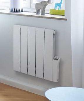 Zehnder Alura Tech elektrische radiator  575 x 1172 mm  - Wit