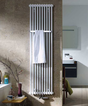 Zehnder Charleston Bar handdoekradiator  1800 x 761 mm Wit
