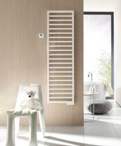 Zehnder Subway Hybride handdoekradiator  1869 x 600 mm Wit
